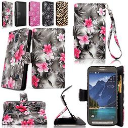 Cellularvilla Wallet Case for Samsung Galaxy S5 Active G870