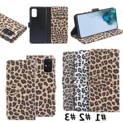 Wallet Flip PU Leather Phone Case Cover For Samsung S20 UItr
