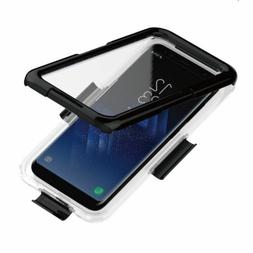 Waterproof FULL Body Transparent Rubber Case Cover For Galax
